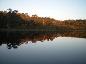 Lake Yeagarup at the close of day