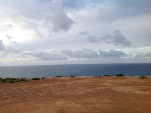 The Great Southern Ocean from the Bunda Cliffs
